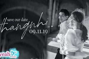 Đông Nhi chính thức tung ảnh cưới đẹp như mơ, thông báo hôn lễ diễn ra vào ngày 9/11