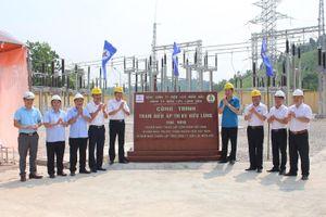 Điện lực Lạng Sơn gắn biển công trình Trạm biến áp 110kV Hữu lũng