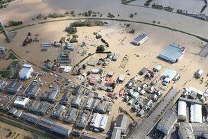 Nhật Bản gồng mình chống chọi với lũ lụt sau bão Hagibis