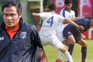 Thua tan nát, HLV U19 Thái Lan vẫn không phục