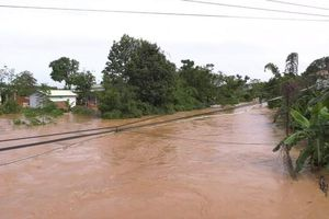 Lào Cai, Bình Phước: Mưa lớn kéo dài, nhiều nơi ngập lụt