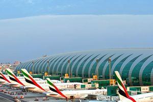 Hệ thống hành lý có tổng chiều dài 140 km ở sân bay Dubai