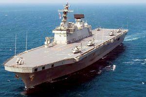 Hàn Quốc tham vọng sở hữu tàu sân bay, cạnh tranh với Trung Quốc