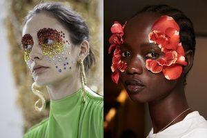 Bạn có dám thử kiểu làm đẹp lạ mắt từ Tuần lễ thời trang Paris?