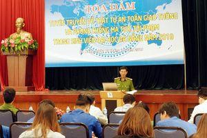 Tọa đàm, tuyên truyền ATGT, phòng chống ma túy trong sinh viên