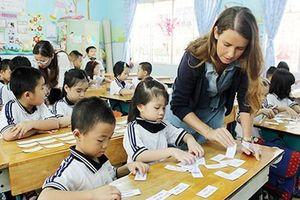 Triển khai phong trào học tiếng Anh trong trường học