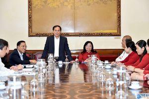 Bộ Ngoại giao luôn đồng hành cùng Bình Dương trong phát triển kinh tế đối ngoại