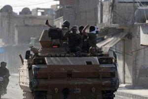 Syria điều quân tới biên giới đối phó với Thổ Nhĩ Kỳ