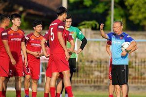 Đội tuyển Việt Nam loại 2 cầu thủ, chốt quân số trận đấu với Indonesia