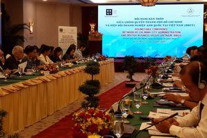 TP HCM đối thoại bàn tròn với doanh nghiệp Anh Quốc