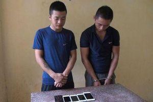 Bắt 2 đối tượng gây ra hàng loạt vụ cướp táo tợn
