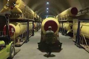 Video hé lộ 'thành phố tên lửa' của Iran