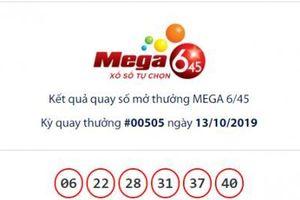 Xổ số Vietlott: Ai trúng giải Jackpot Mega 6/45 hơn 13 tỷ đồng ngày hôm qua?
