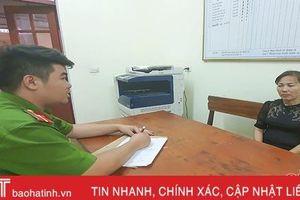 Bắt 'nữ quái' Hà Tĩnh sang Lào mua ma túy về bán kiếm lời