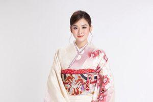 Á hậu Tường San 'biến hình với 'vẻ đẹp Nhật' đầy ấn tượng