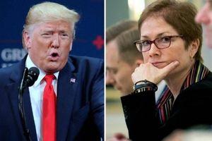 Cựu nữ Đại sứ Mỹ ở Ukraine 'phản đòn',Trump đứng trước nguy cơ bị phế truất