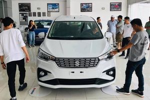 Mẫu xe 7 chỗ rẻ nhất thị trường Suzuki Ertiga bất ngờ sụt giảm doanh số