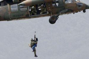 Cụ bà 77 tuổi tử vong khi rơi từ trực thăng cứu trợ bão Hagibis