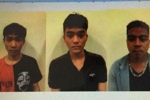 Bắt 3 nam thanh niên tự xưng cảnh sát hình sự để cướp tài sản ở Hà Nội