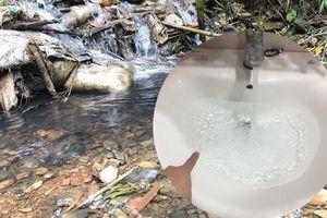 Đã xác định được 'thủ phạm' khiến nguồn nước sạch ở Hà Nội có mùi lạ