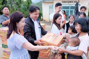Trao hơn 200 phần quà cho bà con nghèo ở Lâm Đồng