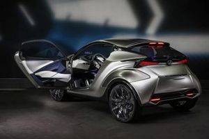 Rò rỉ hình ảnh xe Lexus 'size' Kia Morning sắp ra mắt khiến dân tình phát cuồng