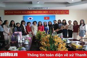 Gặp gỡ, giao lưu văn hóa giữa Hội Liên hiệp Phụ nữ tỉnh Thanh Hóa và Hội Phụ nữ TP Seongnam (Hàn Quốc)