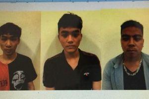 Bắt 3 đối tượng giả danh cảnh sát, đánh người, cướp tài sản