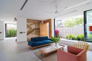 Ngôi nhà tại Sài Gòn sở hữu không gian đẹp từ ngoài vào trong