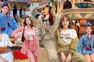 Ngất ngây với loạt street style 'tỏa nắng' mùa thu, ngập tràn trang phục matchy-matchy của dàn sao Việt