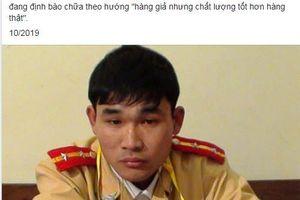 Truy tìm người đăng tải thông tin nam sinh viên giả CSGT bị bắt ở TP.HCM