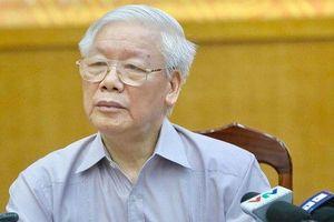 Tổng Bí thư, Chủ tịch nước Nguyễn Phú Trọng: 'Những gì thuộc về độc lập, chủ quyền dân tộc thì ta không bao giờ nhân nhượng'