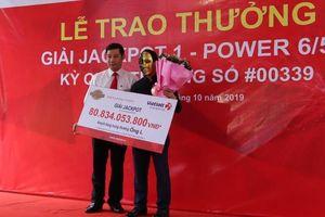 Một người đàn ông Nghệ An trúng Vietlott hơn 80 tỉ đồng