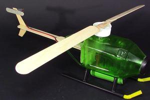 Chế tạo máy bay trực thăng từ vỏ chai nhựa