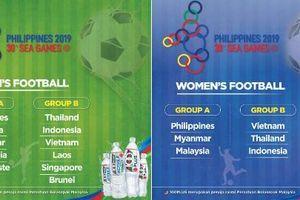 Bóng đá SEA Games 30: Việt Nam 'tái ngộ' Thái Lan, Indonesia