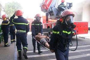 Khánh Hòa diễn tập phương án chữa cháy và cứu nạn, cứu hộ năm 2019