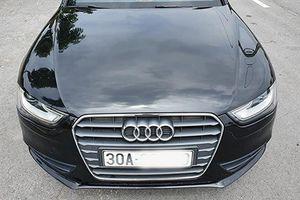 Cận cảnh xe sang Audi A4 chỉ 1 tỷ đồng ở Hà Nội