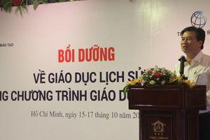 Bồi dưỡng về GD Lịch sử trong chương trình GDPT cho giáo viên cốt cán phía Nam
