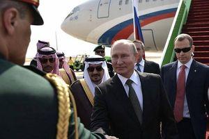 Tổng thống Nga thăm cấp nhà nước Ả Rập Xê-út