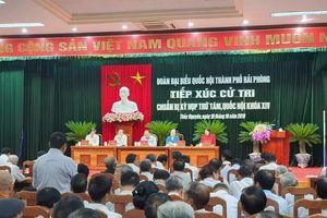 Thủ tướng Chính phủ: 'Sẽ tạo điều kiện tốt nhất để Hải Phòng triển khai Nghị quyết số 45 của Bộ Chính trị'