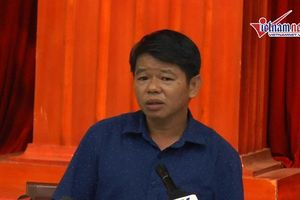 TGĐ Cty nước sạch sông Đà: 'Chỉ có một tâm duy nhất là phục vụ người dân'