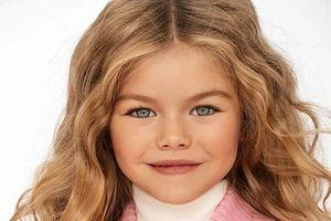 Mẫu nhí 6 tuổi khiến cư dân mạng điên đảo vì quá xinh đẹp