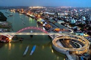 Thông xe cầu vòm nhịp lớn nhất Việt Nam tại Hải Phòng