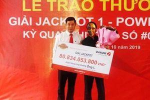 Mua 2 dãy số trong suốt 1 năm, người đàn ông ở Nghệ An trúng Jackpot hơn 80 tỷ đồng