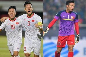 Góp 1 bàn thắng, ảnh Hải 'Quế' làm thủ môn bất đắc dĩ trận gặp Indonesia 3 năm trước được khai quật lại