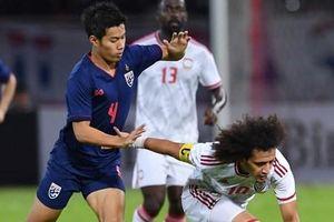 Hạ UAE, Thái Lan xếp trên Việt Nam nhờ hơn hiệu số bàn thắng bại