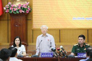 Tổng Bí thư, Chủ tịch nước: 'Vấn đề độc lập chủ quyền không bao giờ nhân nhượng'