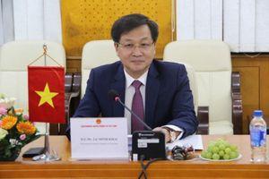 Tổng Thanh tra hội đàm với Đoàn Bộ Quan hệ với Quốc hội - Thượng viện và Thanh tra Campuchia