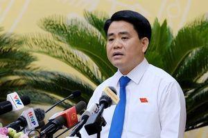 Chủ tịch Nguyễn Đức Chung: Xử lý nghiêm vụ nước sạch sinh hoạt nhiễm dầu thải