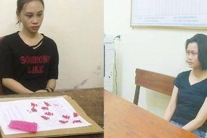 Hai 'hotgirl' ở Hà Tĩnh bị bắt vì vận chuyển, tàng trữ ma túy